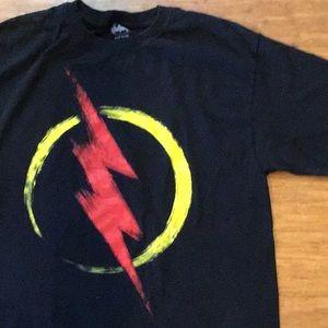DC'S the Flash tshirt men's small to medium size